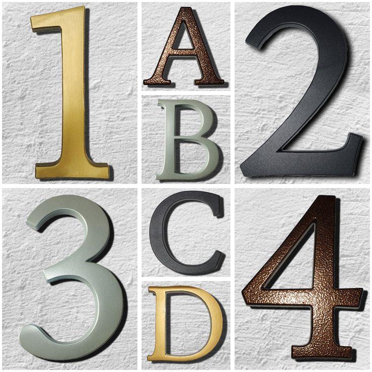 30 besten Hausnummer Bilder auf Pinterest | 3d design, Hausnummern ...