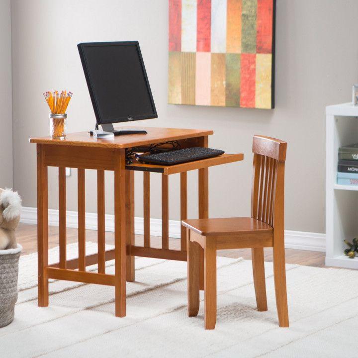 Lipper Chalkboard Storage Desk And Chair Set Organization Ideas For Small Desk Computer Desk Chair Desk And Chair Set Classic Computer Desk
