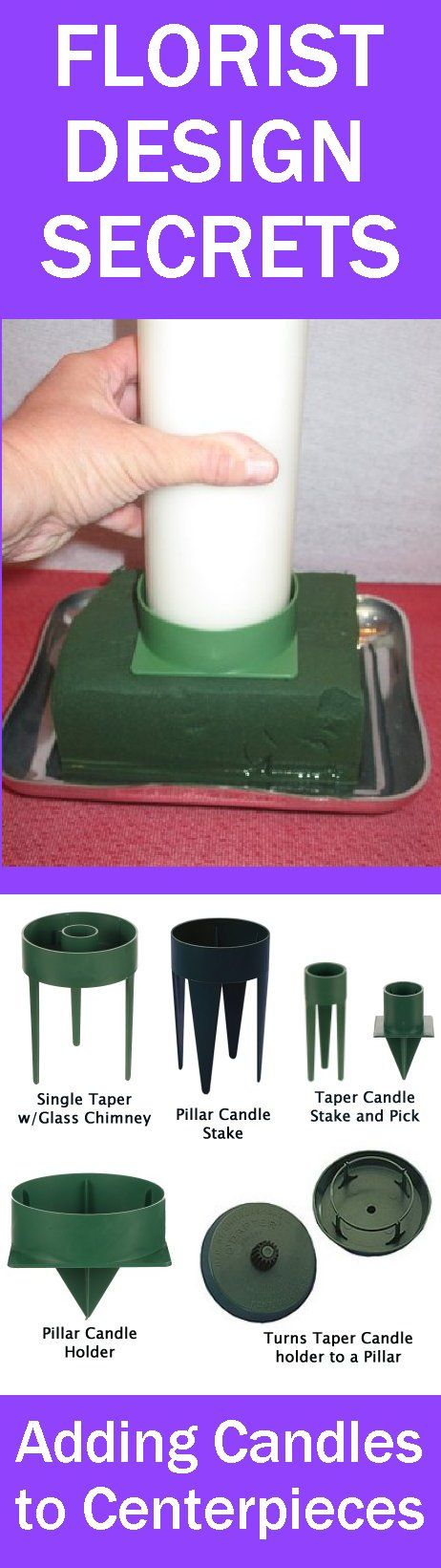 Pillar Candle Centerpiece - Easy Step by Step Tutorial