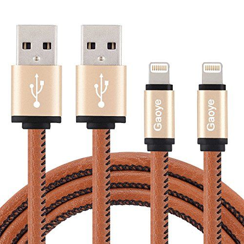 Lightning Cable, Gaoye iPhone Charger 3FT Leather Cable L... https://www.amazon.com/dp/B01MFACFVR/ref=cm_sw_r_pi_dp_x_nzYfyb3NJ8J8T