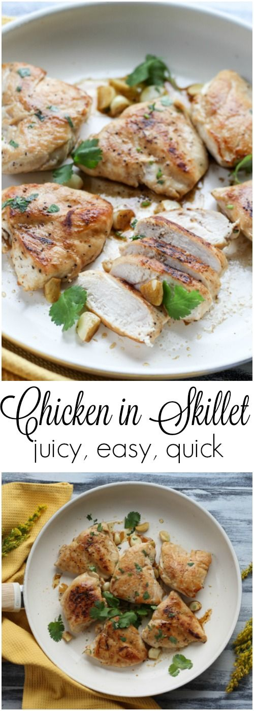 Chicken in Skillet