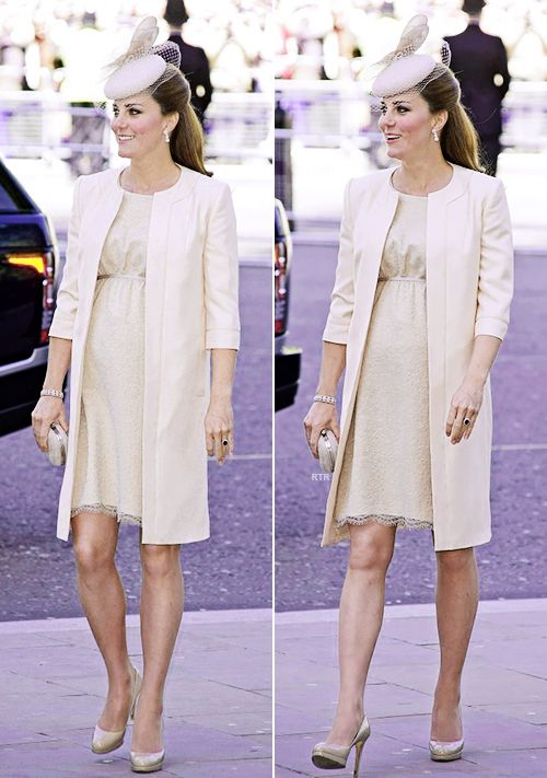 One of my favorite pregnant looks of Kate