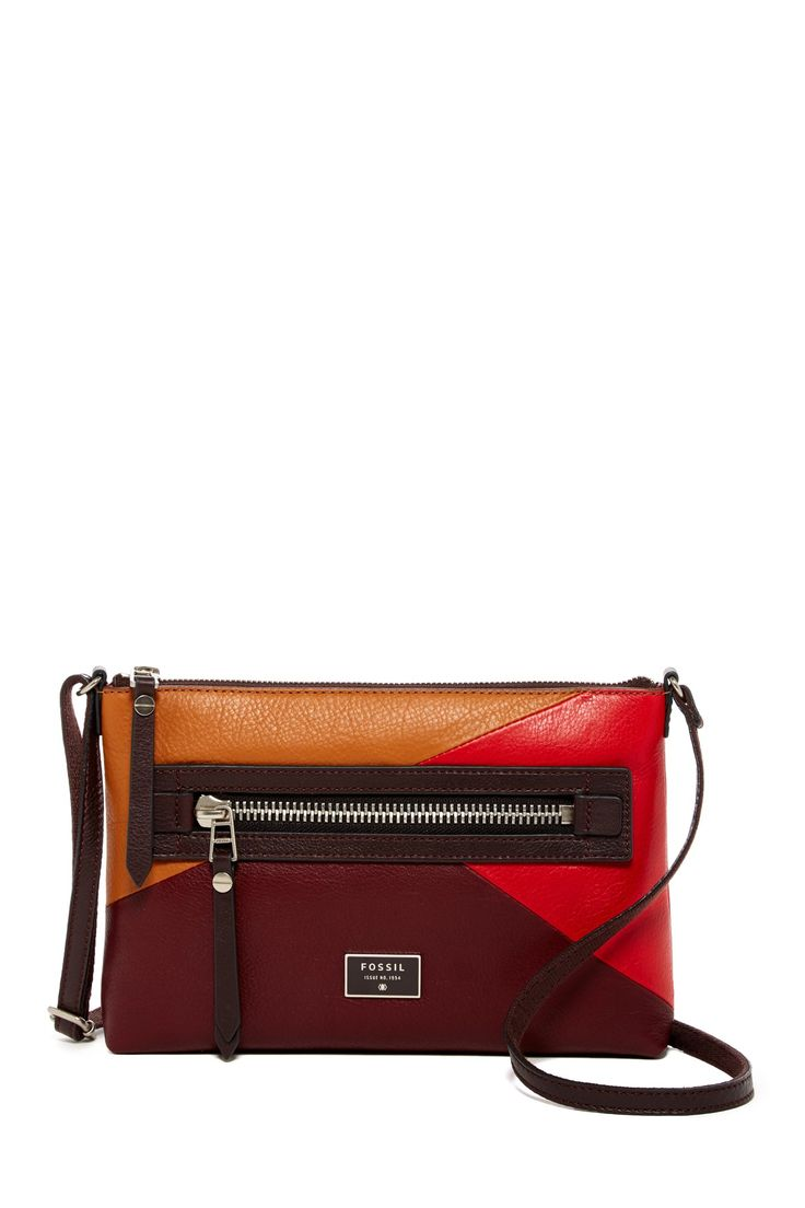 Dawson Multi-Color Leather Crossbody by Fossil on @nordstrom_rack