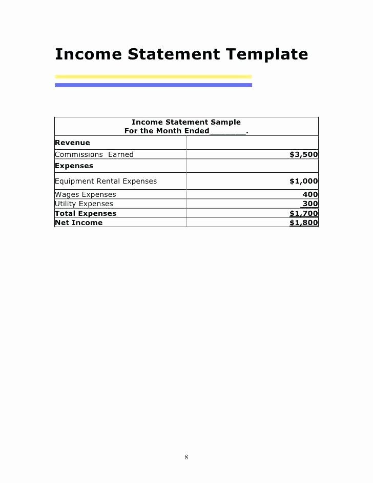 Income And Expense Statement Template New Download Profit Loss Statement In E Vertical Statement Template Income Statement Template Mission Statement Template Monthly income statement template