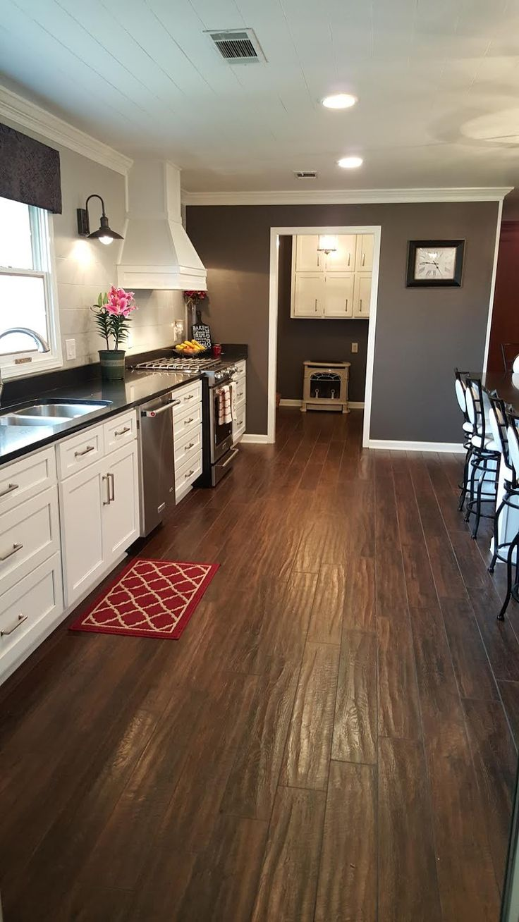 Dark Tile Flooring 25 Best Dark Tile Floors Ideas On Pinterest  Kitchen Floors