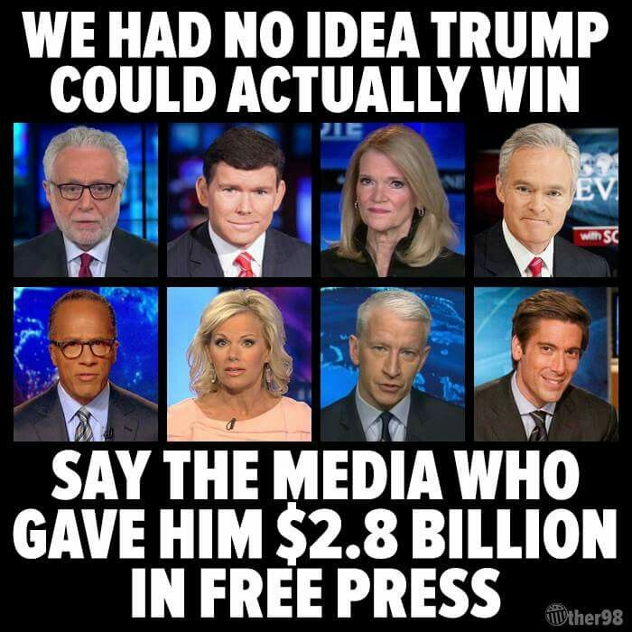 and Hillary was allowed to steal nomination with no press backlash