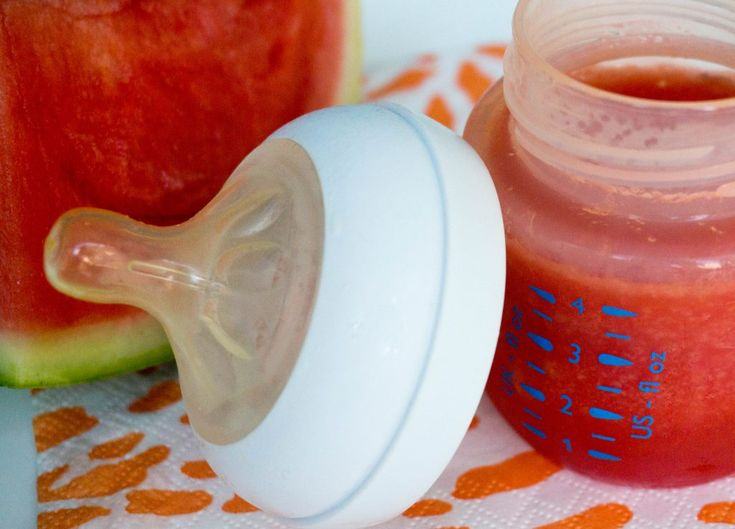 Lekker voor Baby's, Peuters, Dreumesen en Vowassenen Watermeloen Sap – Babies Kitchen