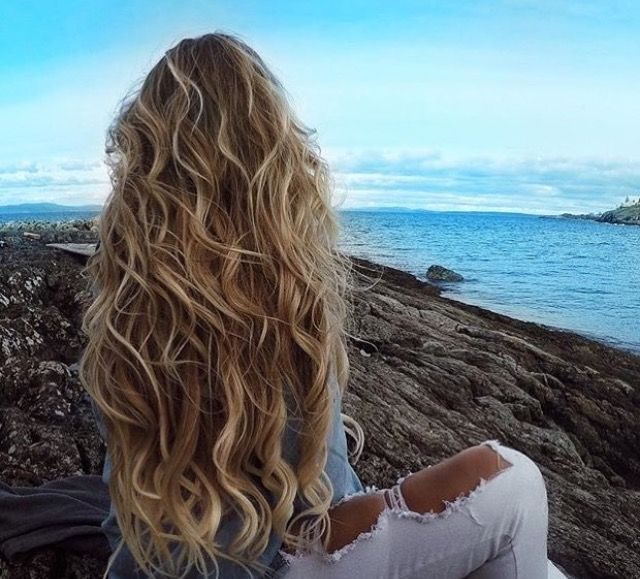Beachy hair- love the coloring