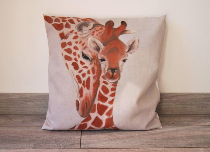 17 meilleures id es propos de illustration de girafe sur for Housse de coussin enfant