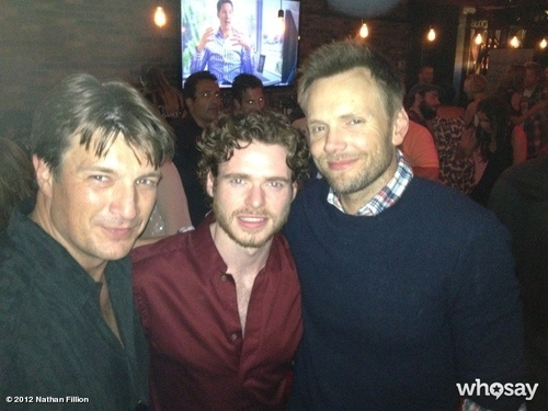 Captain Mal, Robb Stark, and Jeff Winger. All together. Yeesh!
