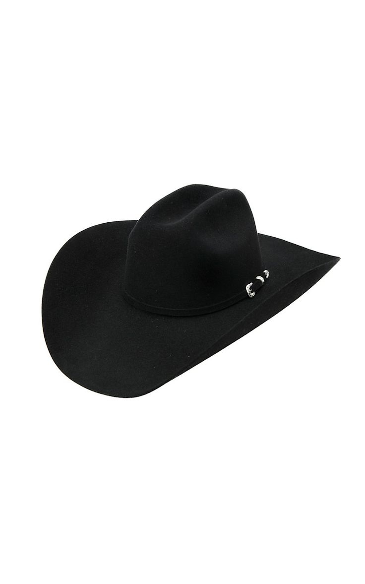 Stetson® 5X Lariat Black Felt Cowboy Hat