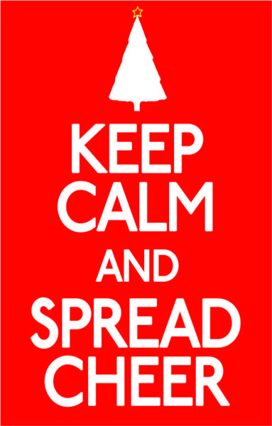 Keep Calm and Spread Cheers