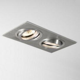 Entièrement encastrables et ajustables, ces spots en aluminium sont adaptés à une salle de bain. Pour plus d'informations, visitez notre site Internet.