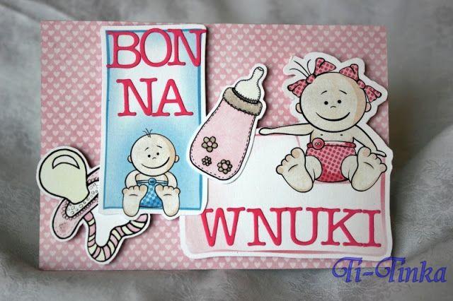 bon na wnuki - podziękowania dla rodziców by Ti-Tinka