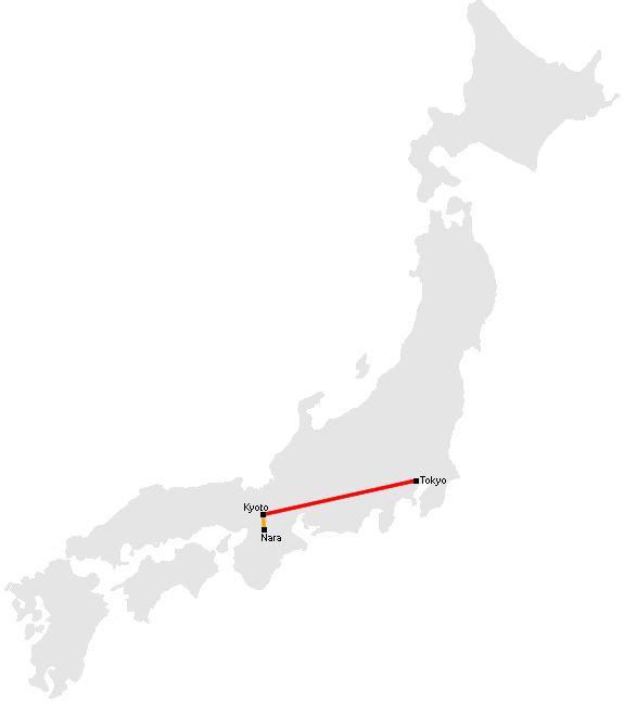 Sample Japan Travel Itinerary - 8 days, 7 nights