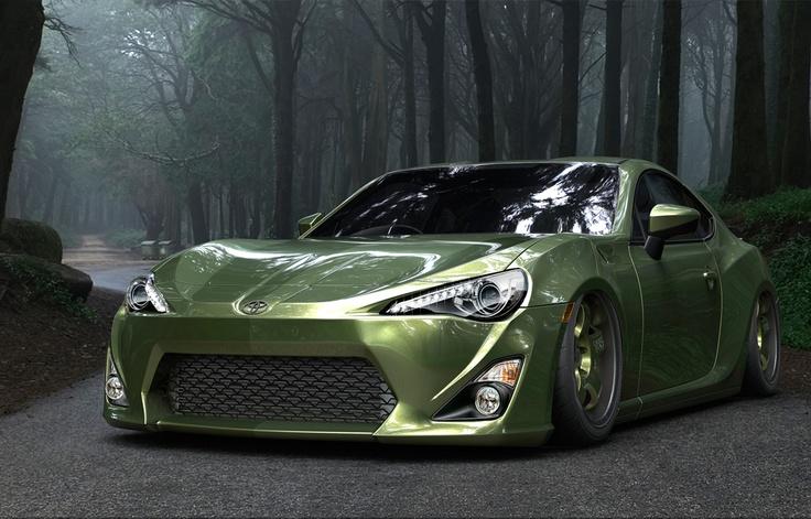 Toyota GT86 Verde