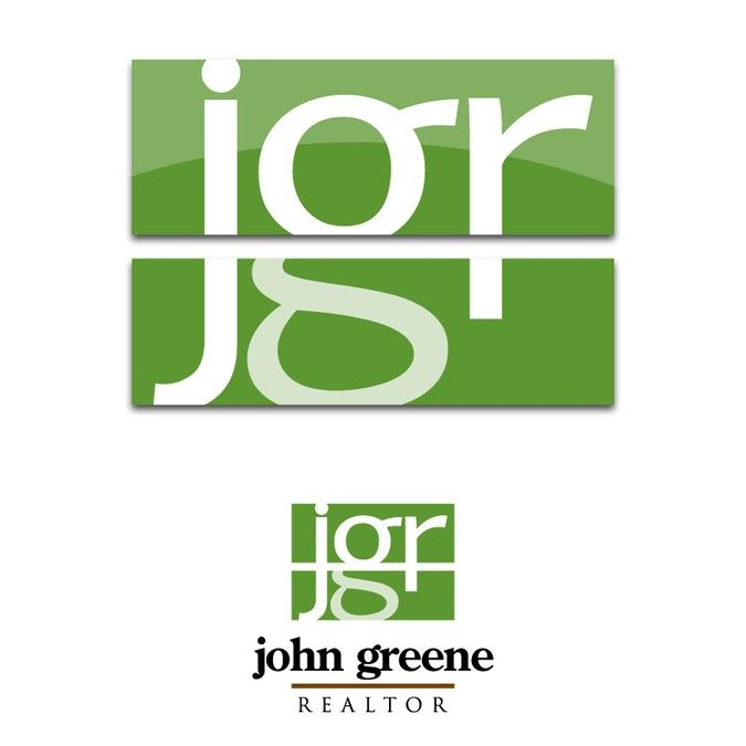 john greene Realtor logo redesign by Joel Iván