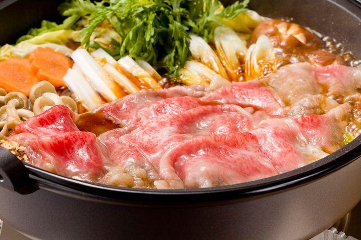 神戸牛のすき焼き(超美味しい)