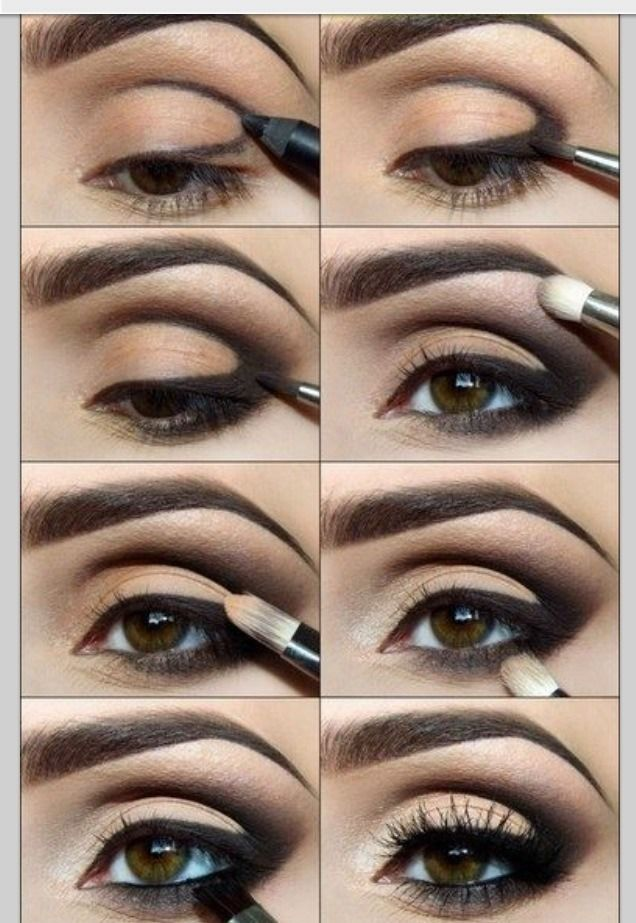 How To Get That Sexy Eye Makeup Triangle Look