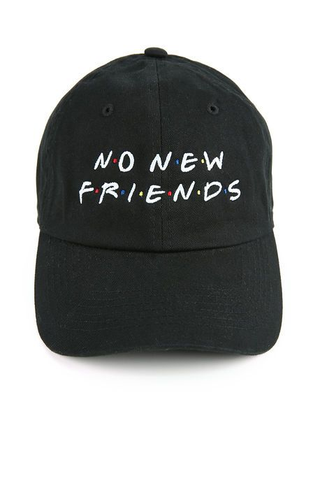 Spoiled Milk The Friends Dad Hat in Black