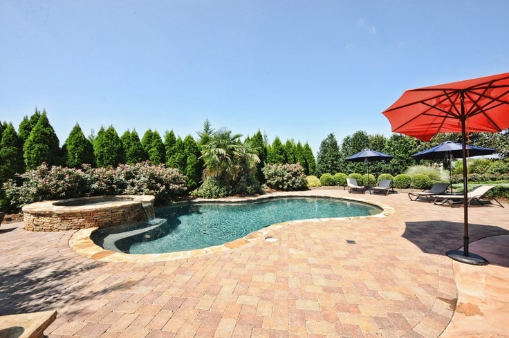 Charlotte NC homes with pools:  http://athomescharlotte.com/realestate/home-buyers-guide/charlotte-homes-with-private-in-ground-pools/