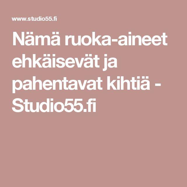 Nämä ruoka-aineet ehkäisevät ja pahentavat kihtiä - Studio55.fi