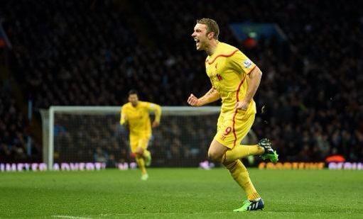 FT Aston Villa 0-2 Liverpool Goals from Lambert and Borini! 3rd consecutive away win!