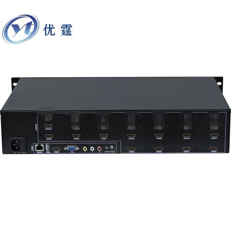 1529.15$  Buy here - http://aiqvd.worlditems.win/all/product.php?id=32740192915 - YOUTING YT-BOX4X3 LCD Video Wall Controller HDMI VGA AV USB Processor 4x3Nine images stitching image processor 12TV
