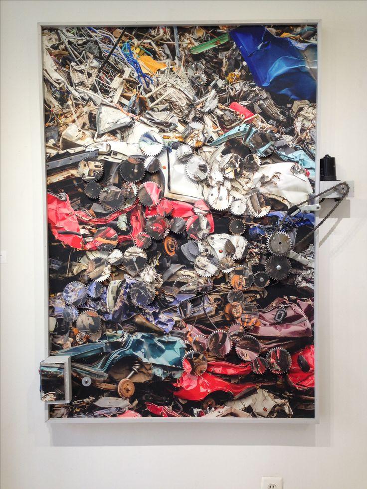 By #ugoschildge @ Muriel Guepin Gallery NYC July 2016