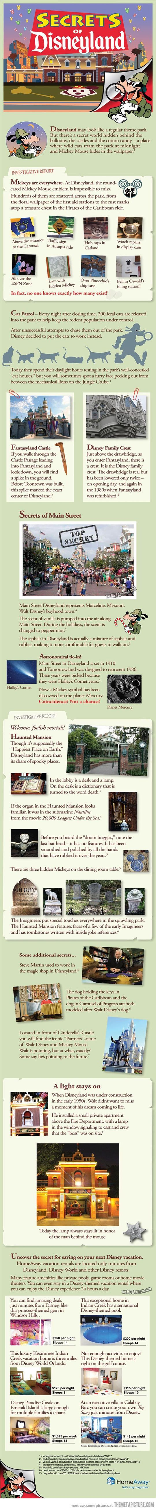 Cool Secrets of Disneyland…this is awesome! They remember Walt in such great ways!