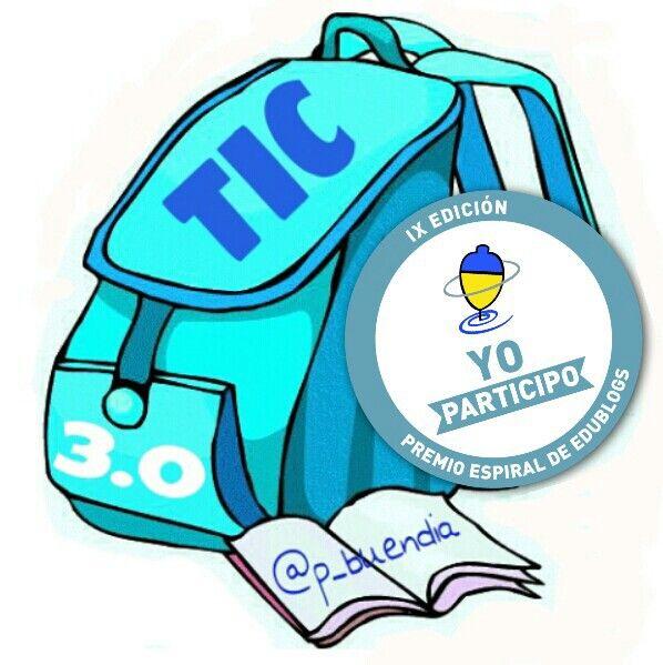#yotambienparticipo en @edublogsespiral con el blog #Mochilatic:Recursos educativos. http://espiraledublogs.org/comunidad/Edublogs/recurso/mochilatic-recursos-educativos/e3a4059f-ba7d-6417-87a9-1c3ff9ace3a2