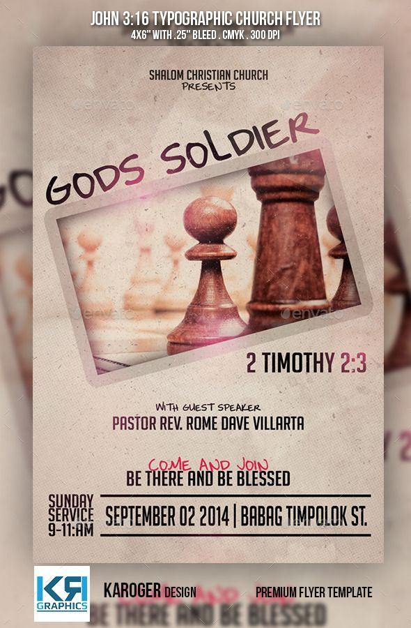 1416 best Top Church Flyer Template images on Pinterest Fonts - christian flyer templates
