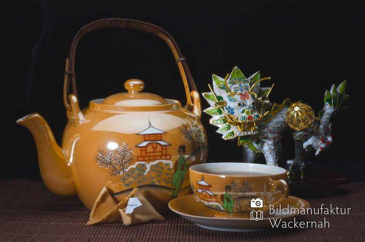 nice Fotografie Tee »China gold – Drache«,  #Stills