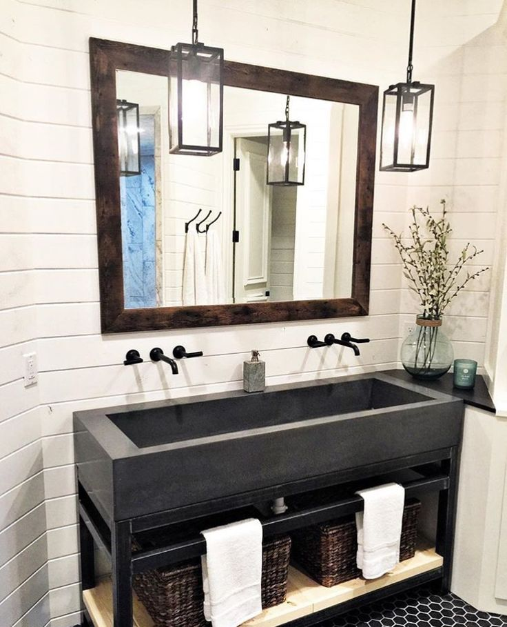 bathroom cabinet online design tool%0A This amazing bathroom is from the concept home Shalia  Cherami  Urban  Farmhouse owner   and I are working on  with lots of other designers