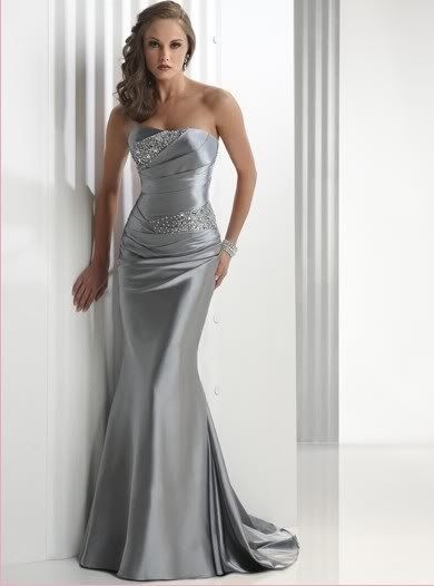 Fabulous silver dresses for th wedding anniversary tan tuxedo wedding with purple tie floating candles centerpieces