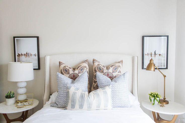 SW SHOJI WHITE - Alden Model Master & Guest Bedrooms