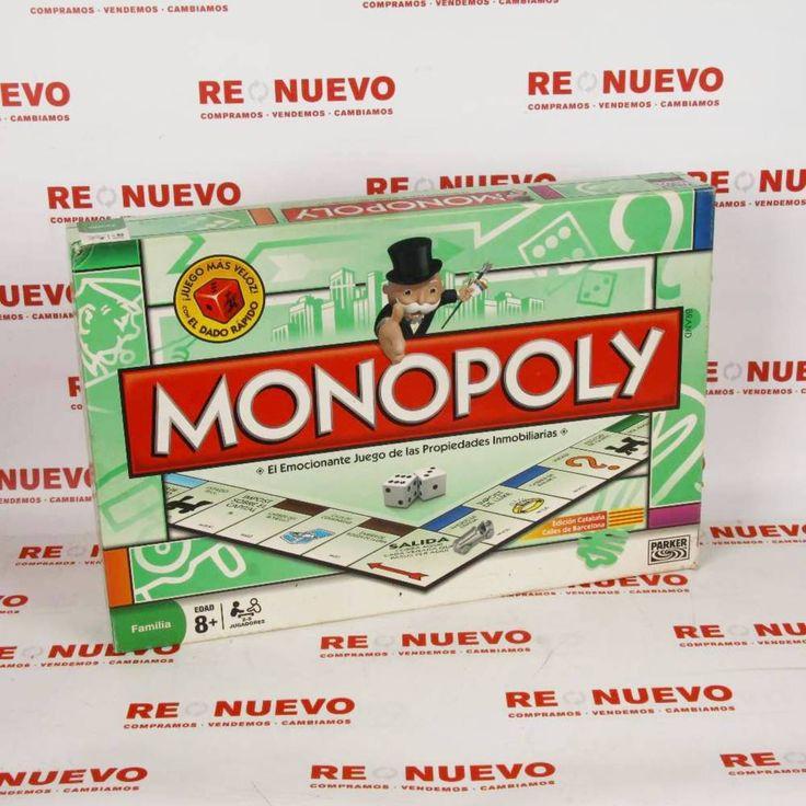 #Juego de mesa #MONOPOLY E270636 de segunda mano   Tienda online de segunda mano en Barcelona Re-Nuevo #segundamano