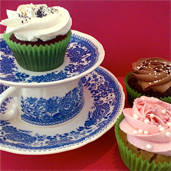 Teatime and cupcakes from YUMM Cupcakes Switzerland