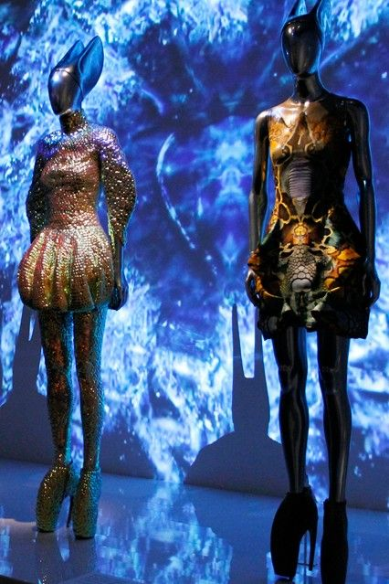 Great fashion exhibitions: McQueen Savage Beauty 5. An interesting example of runway video integration in a museum space.