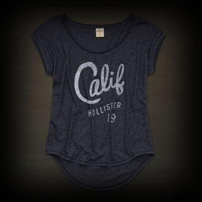 ホリスター レディース Tシャツ Hollister Avalon Place Tee ニット Tシャツ-アバクロ 通販 ショップ-【I.T.SHOP】 #ITShop