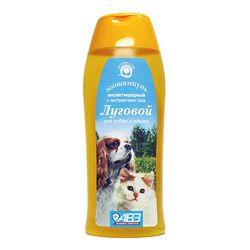Шампунь для кошек/собак Агроветзащита Луговой от блох, фл. 160 мл