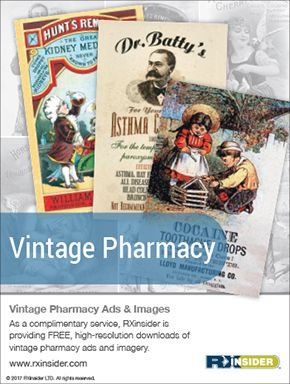 RXinsider - Vintage Pharmacy (as seen in the 20Ways Winter 2017 Hospital & Infusion Issue).