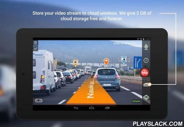 Car DVR & GPS Navigator  Android App - playslack.com , CamOnRoad is a free car camera application for your smartphone, transforming it into the advanced car DVR with GPS navigation features based on augmented reality. You no longer need to buy a separate dash cam to improve your road safety or to buy a separate GPS navigation device to reach your destination. Use CamOnRoad application for both purposes: as the car blackbox and as the awesome video-navigation system. Moreover speed cameras…