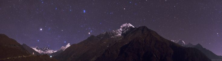 Himalayan Skyscape  Credit & Copyright: Babak Tafreshi (TWAN)