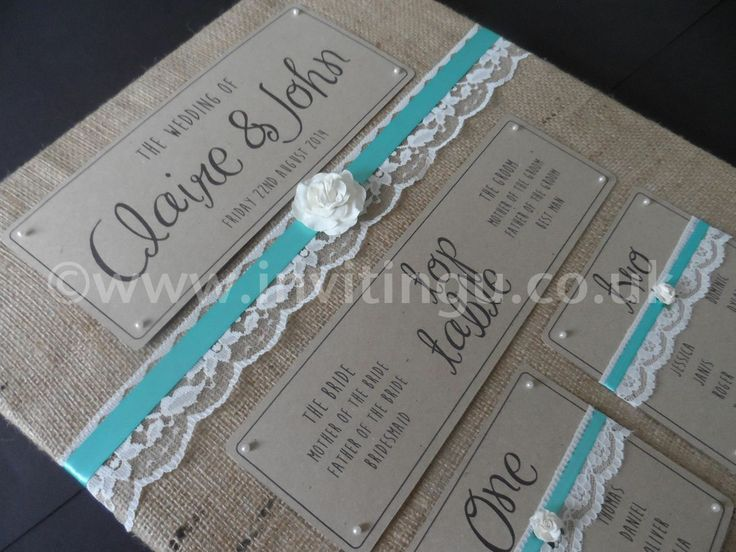 Vintage style wedding stationery. 'Oh So Pretty' Table plan from ©www.invitingu.co.uk
