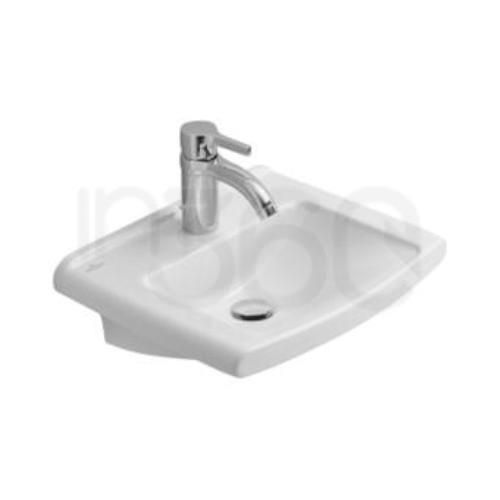 Villeroy & Boch Lifetime, Umywalka mala, 450 x 370 mm, Weiss Alpin 53754601
