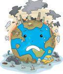 het schreeuwen, Aarde, Schuldig, Vervuiling