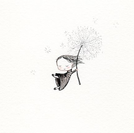 Dandelion-would make a lovely tattoo