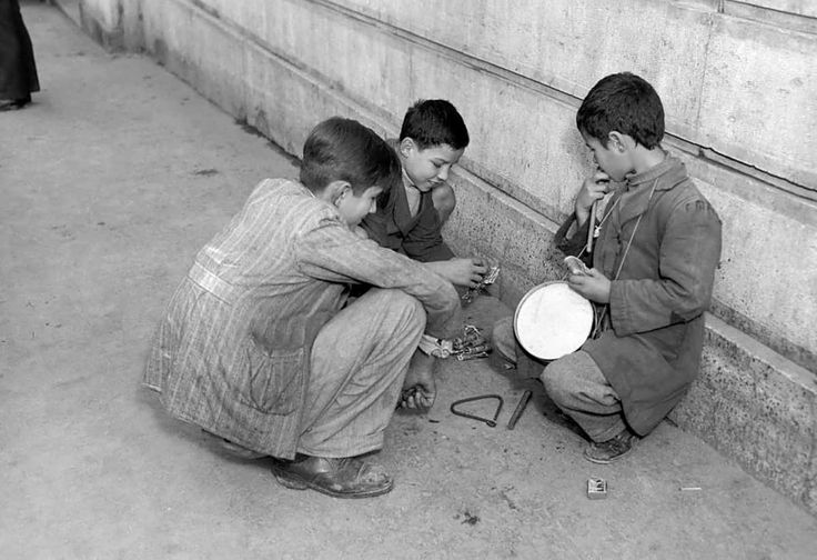 Φωτογραφία: Δημήτρης Χαρισιάδης / Κάλαντα, 1950