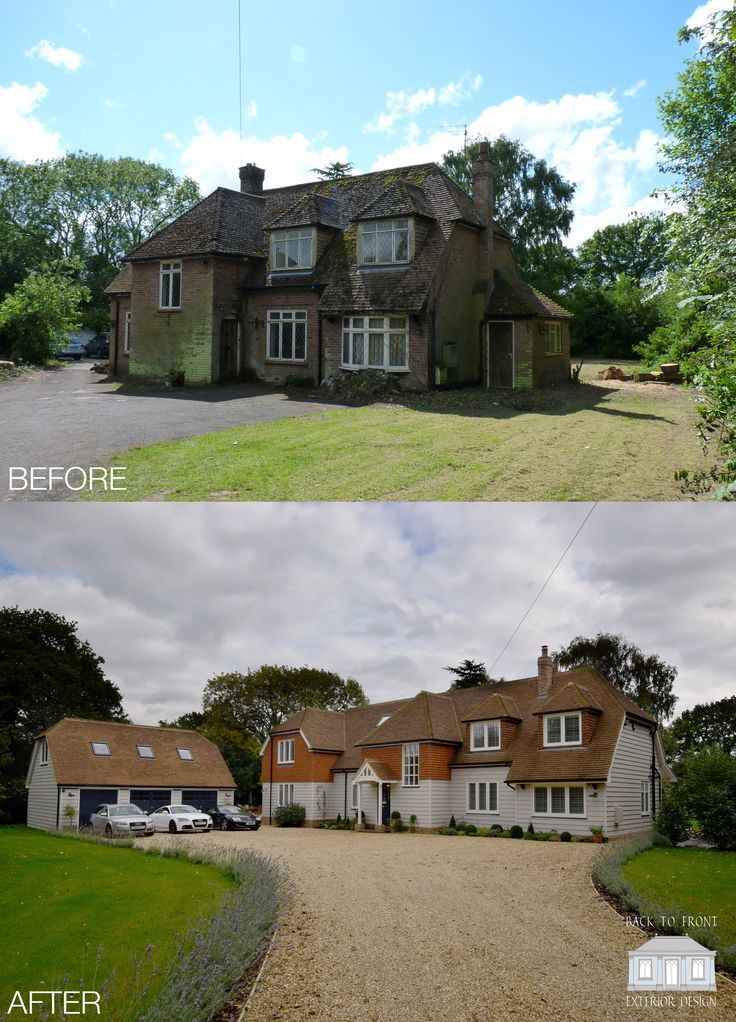 302 Best Images About Front Facade Kerb Appeal On Pinterest: 65 Best Back To Front Before & After Remodelling Projects Images On Pinterest